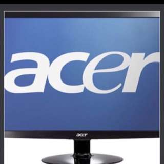 Acer S231HL Monitor For Sale ( display only spoiled )