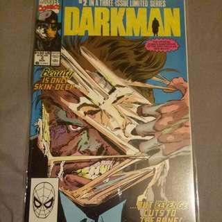 Marvel comic Darkman issue 2