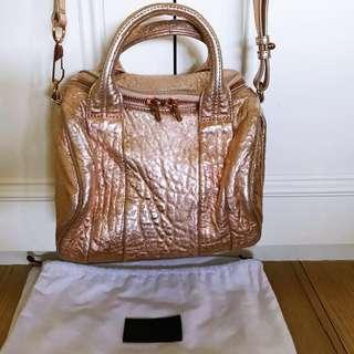 Alexander Wang Rockie Tote Bag in Rose Gold