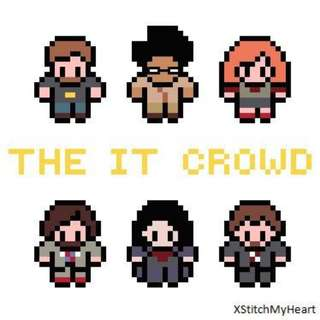 Hama beads design the it crowd characters