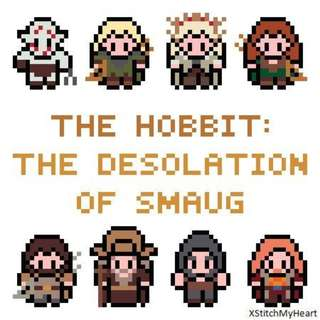 Hama beads design the hobbit the desolation of smaug characters