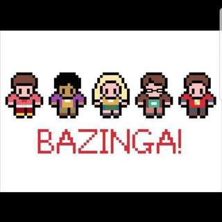 Hama beads design the big bang theory characters