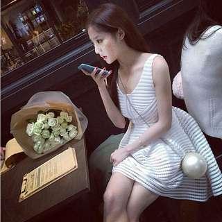 🚚 「現貨紅S.4XL」澎裙 洋裝 禮服 7736