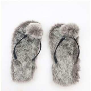 Sandal dantai berbulu