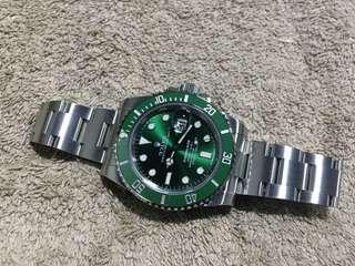 勞力士 Rolex 116610 LV Submariner 綠綠 全新 Full Set