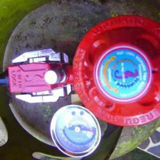 Regulator kompor lpg kopana twin safety lock