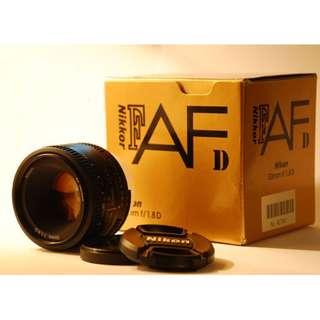 Nikon AF Nikkor 85mm f/1.8D Brand New