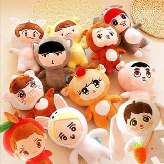 Preorder - EXO DOLL *PLEASE CHOOSE DESIGN *23 CMexc.pos