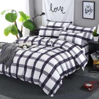 床單連枕袋被套三件/四件裝