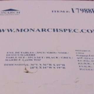3PC Monarch Tables