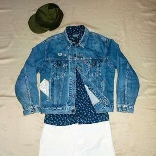 美國製Vintage Levi's Cowboy Jacket (色落養成品)