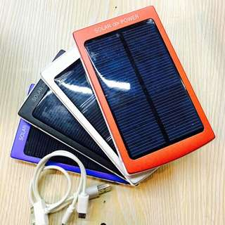 Solar powerbank   50.000 mah free 3 in1 usb cord