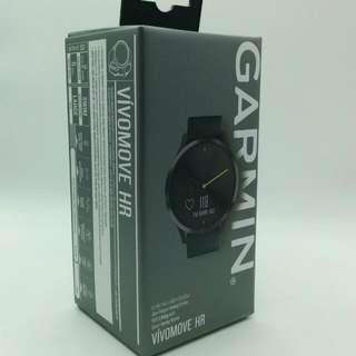 Garmin Vivimove HR Black Sg Warranty  Company Cny Spring Clearance Spare Set  New Condition Full Box  MHFEB