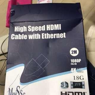 HDMI 線 全新 無拆