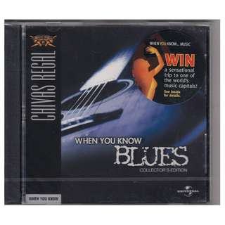 Various Artists: <When You Know Blues> Collector's Edition CD (Brand New)