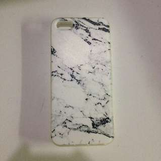 Marble Case Iphone 5s (Jelly Case)