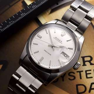 SOLD-     34mm Men's Rolex Oysterdate Ref.6694