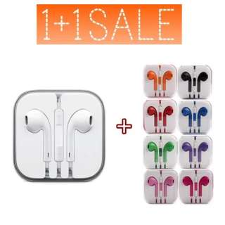 1 + 1 Earpods with control talk and built in mic @ only $10!