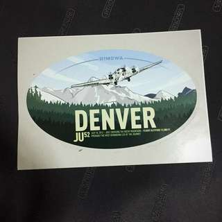 GRaB & Go Special OFFER! 💡 Limited Edition  Denver Rimowa Luggage Sticker