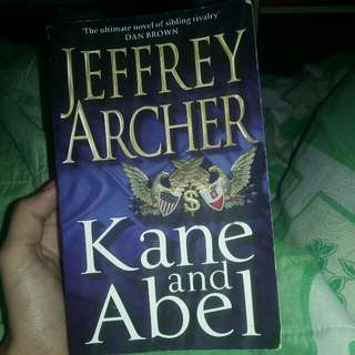 #ImlekHoki Import Book: Jeffrey Archer Kane and Abel