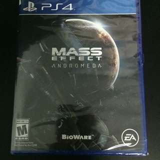 PS4 Mass Effect Andromeda (Brand New)