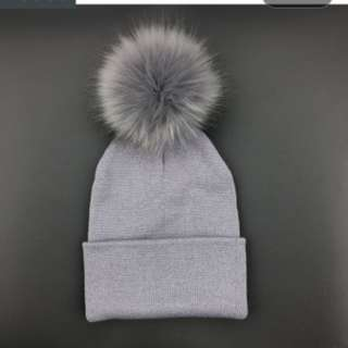 Brand new never worn grey toque