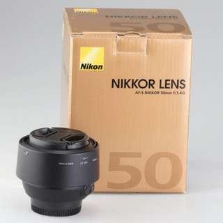 Nikon AF-S FX NIKKOR 50mm f/1.4G Lens Brand New