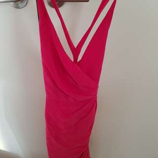 Zimmermann fuschia dress