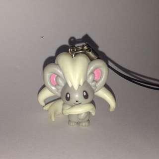 Pokemon Cinccino Keyring / Keychain / Phone Charm