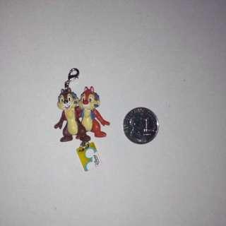 Walt Disney Chip 'N' Dale Keychain Charm