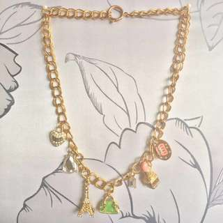 Juicy charms necklace
