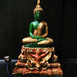 Old Collections of Phra Keow Bucha from.Thai Temple 253X letting.go .