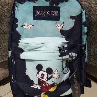 Mickey mouse limited edition jansport authrntic
