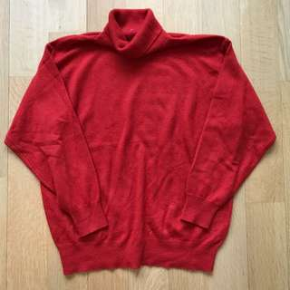 Vintage Rare Cashmere/Silk Turtleneck