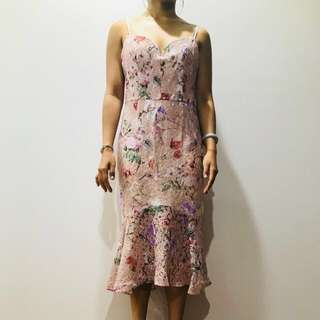 BNWO Forever New Floral Dress