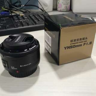 YongNuo 50mm f1.8 [Canon Mount]