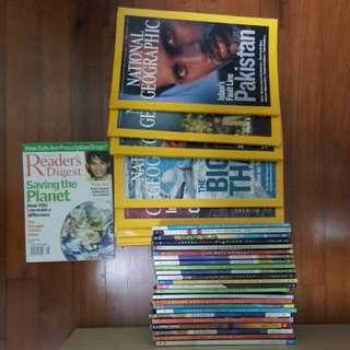 National Geographic 2007 n reader digest