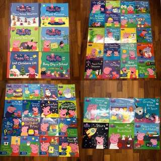 48 Peppa Pig Children Kids Story Books (4 sizes)