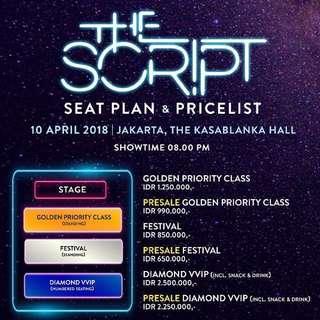 The Script - Freedom Child Tour Jakarta