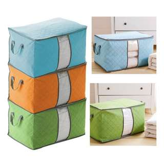 Bamboo Storage Bag Organizer | Tempat Penyimpanan Pakaian v2