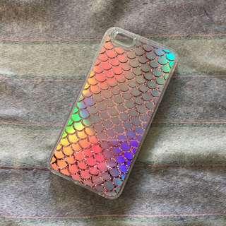 Iphone 6plus / 6splus Mermaid glittered case