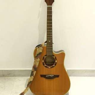Takamine EGSF15SC Acoustic Guitar with Tuner