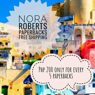 Free Shipping! Nora Roberts Paperbacks
