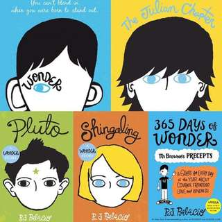 E-book Wonder Collection by RJ Palacio