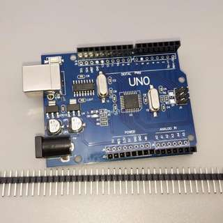 One set UNO R3 (CH340G) MEGA328P for Arduino UNO R3 (NO USB CABLE)