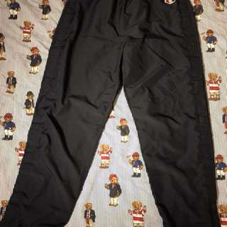 Navy blue vintage Champion tearaway pants