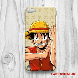 One Pieces Luffy iPod Touch 5 Custom Hard Case