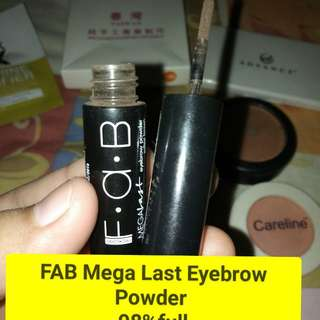 FAB Mega last Eyebrow Powder