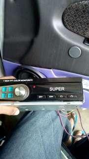 car tv player
