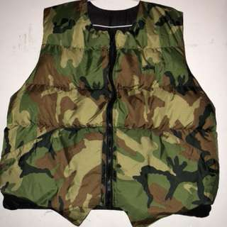 Stussy vest Reversible